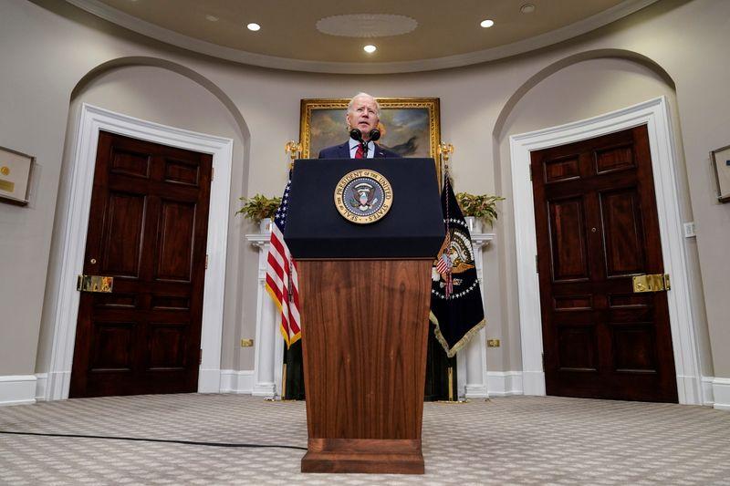 Biden says he will make announcement on Saudi Arabia on Monday