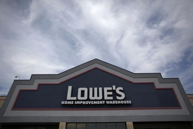 Lowe's jumps as the brightest Outlook offsets fall on sales in the same store