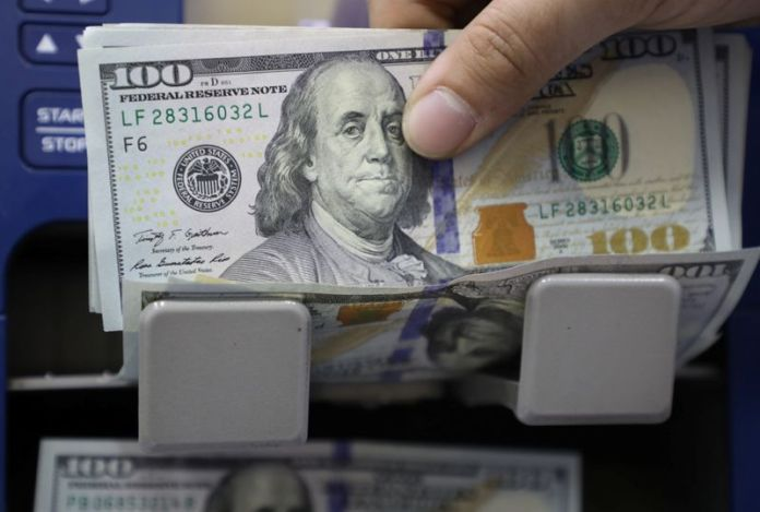 The dollar's uptrend stopped before the Fed meeting