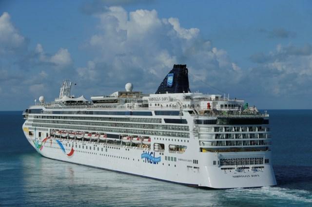 Norwegian Cruise says the ban