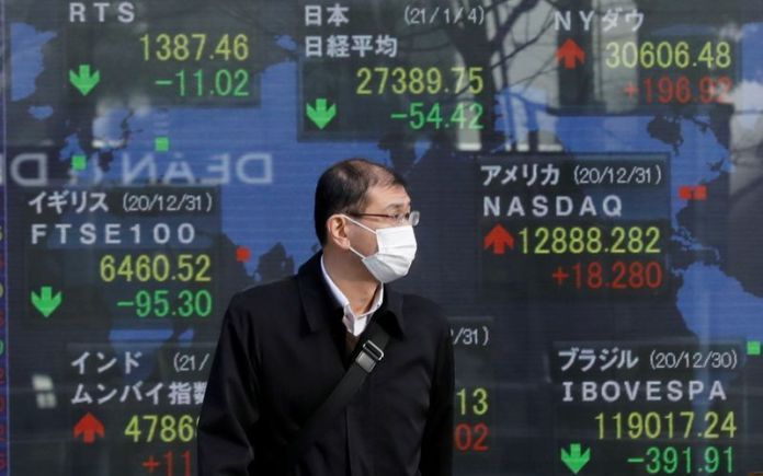 Nikkei closes higher on hopes of economic recovery