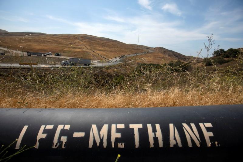 Methane menace: Aerial survey spots 'super-emitter' landfills