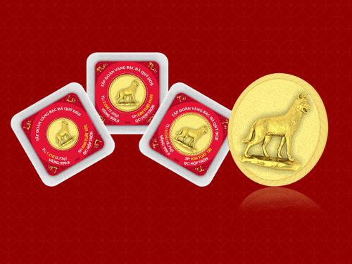 Điểm mặt các sản phẩm vàng hút khách dịp vía Thần Tài 2018