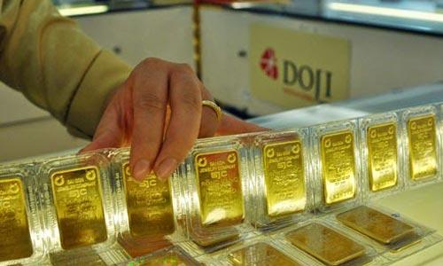 Giá vàng trong nước tăng nhẹ. Ảnh: PV.