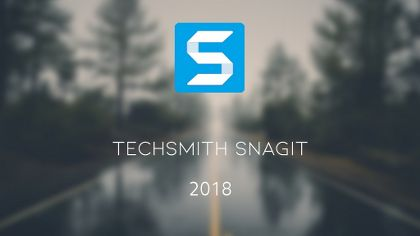 TechSmith Snagit 2018