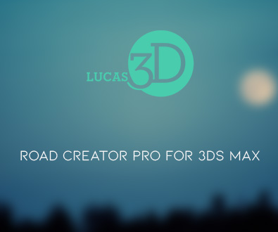 Road Creator Pro v2.03 for 3ds Max 2016-2019