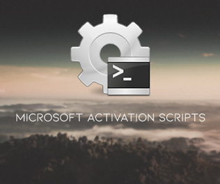 Microsoft Activation Scripts