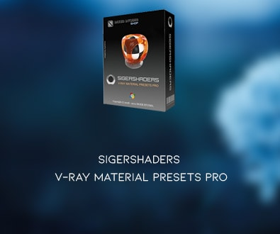 SIGERSHADERS V-Ray Material Presets Pro v4.1.6 for 3ds Max