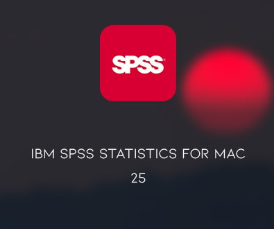IBM SPSS Statistics 25.0 for macOS