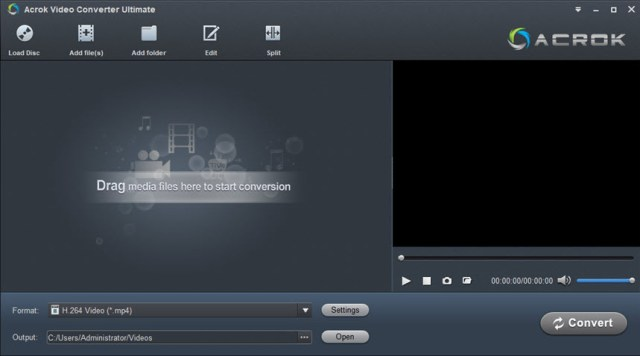 Acrok Video Converter Ultimate 7.0.188.1688