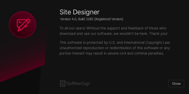 CoffeeCup Responsive Site Designer 4.0 Build 3285