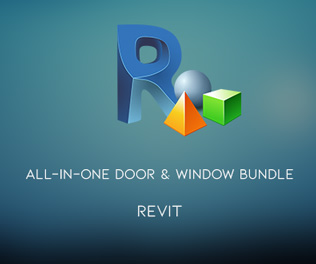 Revit Content - All-in-One Door and Window Bundle May 2019