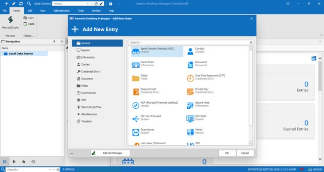Remote Desktop Manager Enterprise 2020.2.12.0