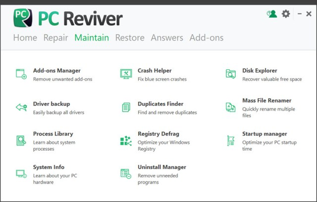 ReviverSoft PC Reviver v3.10.0.22