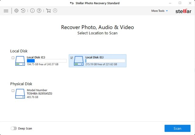 Stellar Photo Recovery Windows 10.0