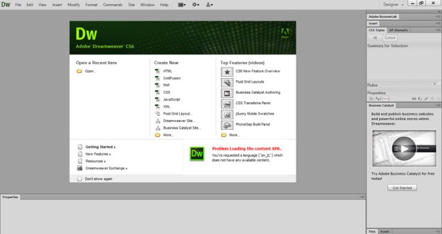 Adobe Dreamweaver CS6 v12.0