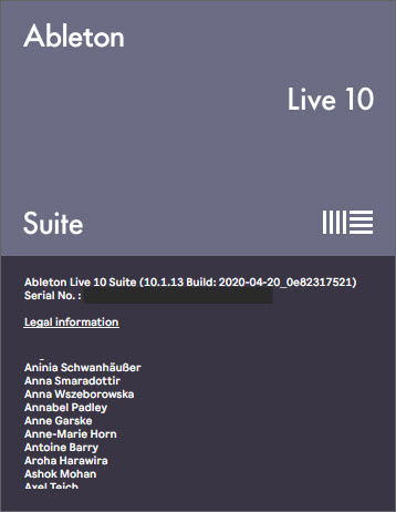 Ableton Live Suite 10.1.13