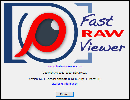 FastRawViewer 1.6.1 Build 1664