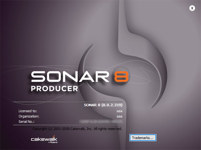 Cakewalk Sonar 8.0 Producer Edition