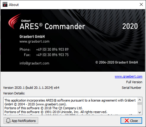 ARES Commander 2020.1