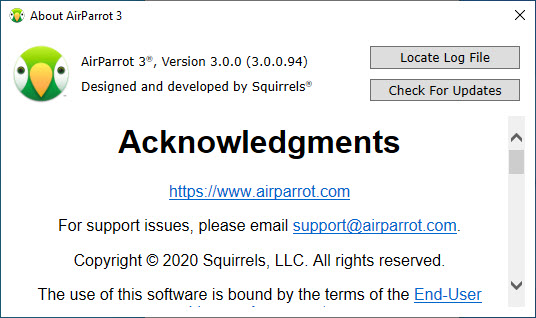 AirParrot 3.0.0