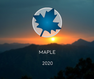 Maplesoft Maple 2020