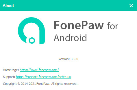 FonePaw Android Data Recovery 3.9.0