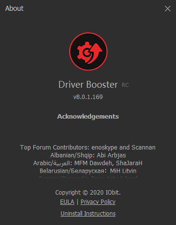 IObit Driver Booster 8.0.1.169 RC
