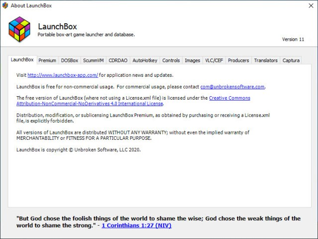 LaunchBox Premium with Big Box v11.4