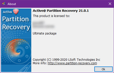 Active Partition Recovery Ultimate 21.0.1
