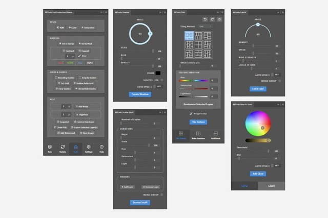 Creativemarket - Photoshop Add-Ons Bundle by H3Design & BBTools
