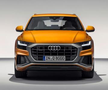 Премиальное кросс-купе Audi Q8 2018-2019, официальная премьера