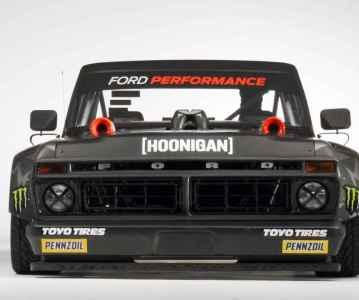 Новый Hoonitruck Кена Блока: 900+ сил и двигатель от GT-40, видео