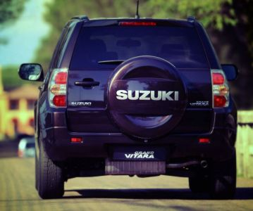 Замена переднего и заднего бамперов на Suzuki Grand Vitara