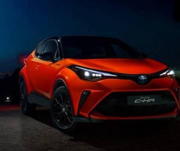 Новая Toyota C-HR 2020: цена и комплектации