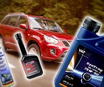 Как выбрать и заменить масло в КПП Chery Tiggo FL