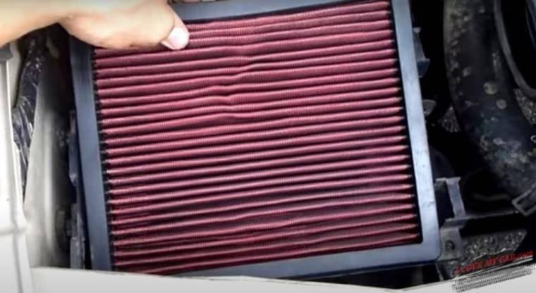 воздушный фильтр шевроле