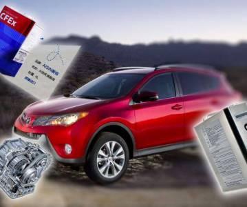 Замена масла в вариаторе Toyota RAV4 Aisin K111F. Фильтр, регламент