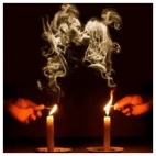 Candles love spell