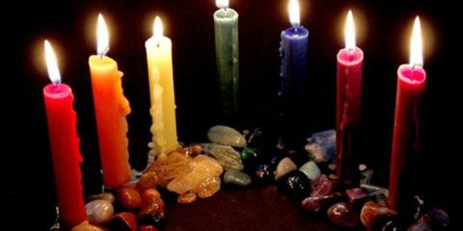 How to Use Candles for Spell work