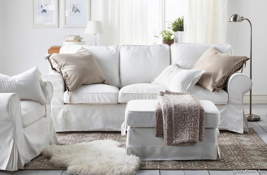 un salon cocooning et cosy