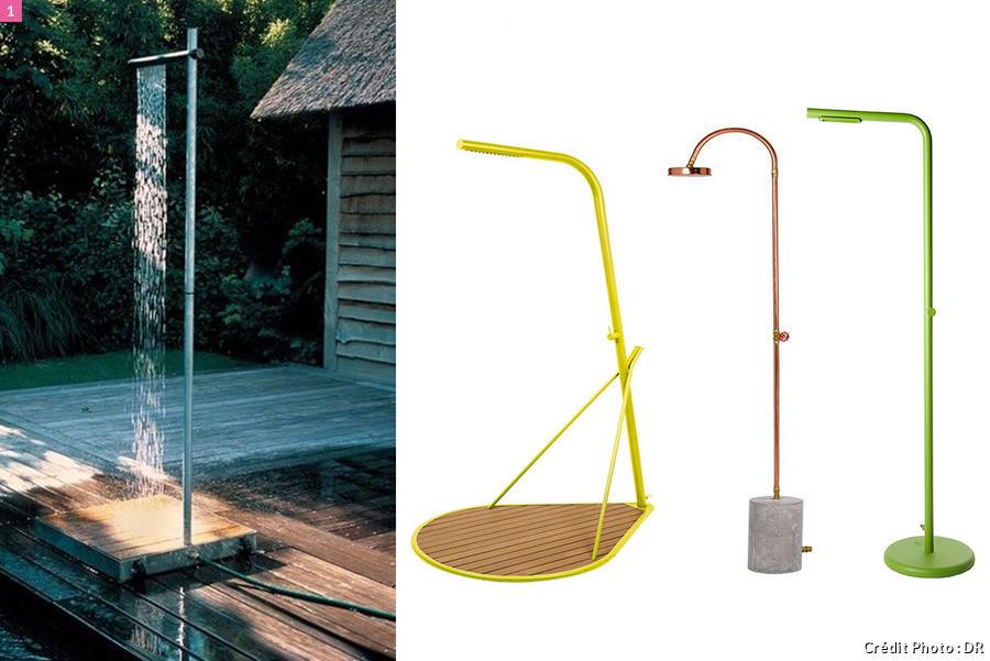 11 douches d exterieur pour jardin a