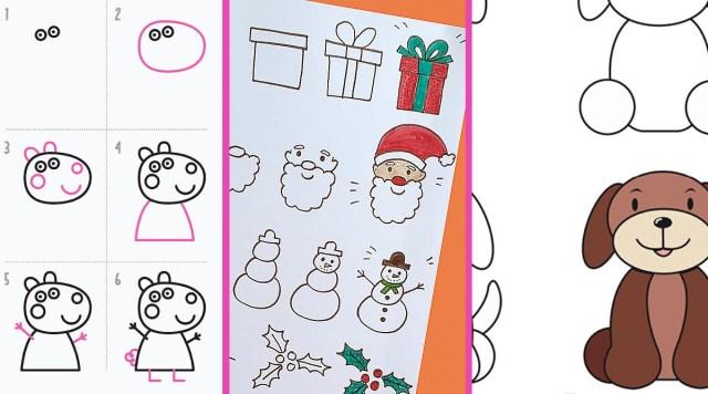 Apprendre à dessiner aux enfants : 29 modèles vraiment top Momes