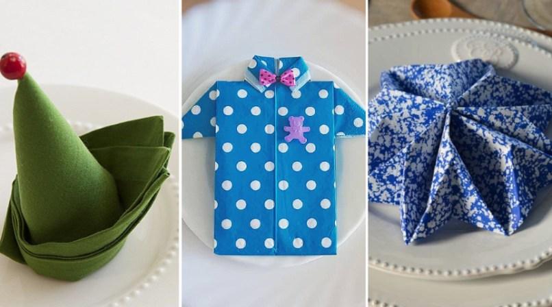 25 Idees De Pliages De Serviettes Pour Noel Paques Momes Net