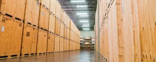 Vault storage Services at a warehouse