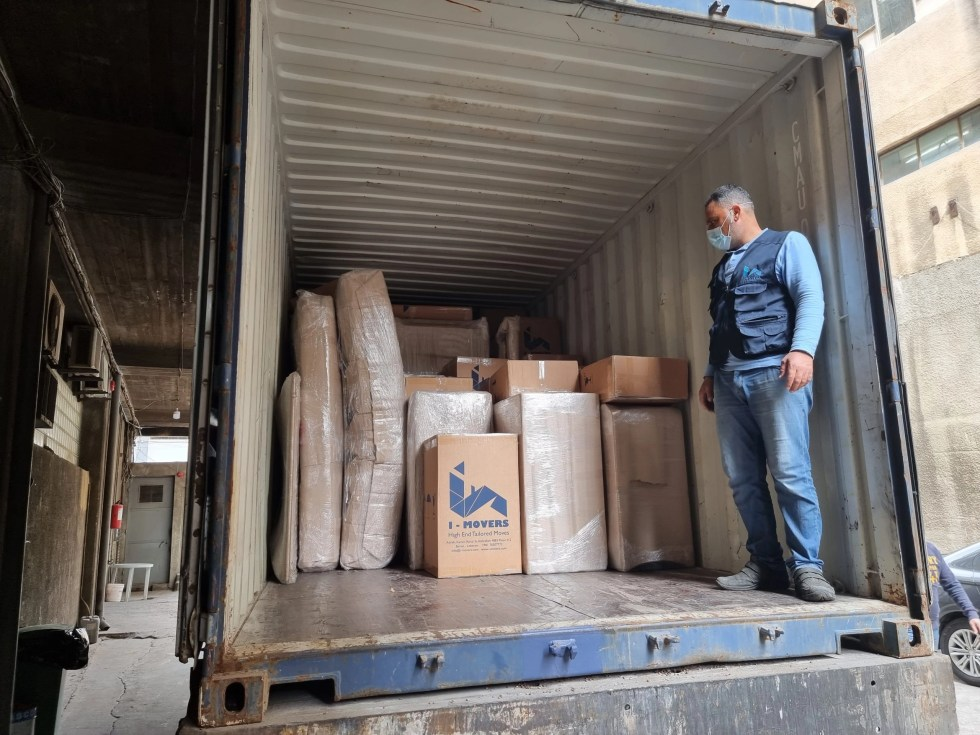 Professional international moving services