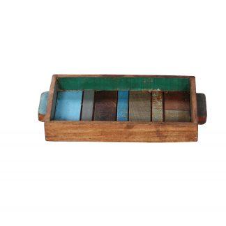 Scrapwood dienblad rechthoekig sloophout