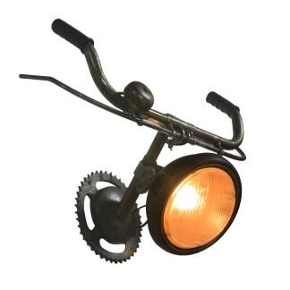 Wandlamp fietsstuur handrem en bel