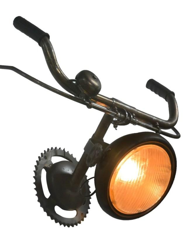 Wandlamp fietsstuurlamp