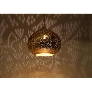 Indiase-hanglamp-filigrain-pompoen-goud-te-koop-bij-winkel-Indistrieel-in-Middelburg